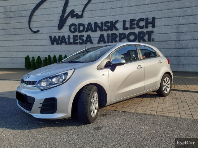 Rent KIA RIO | Car rental Gdansk |