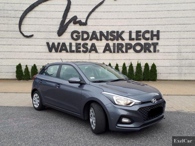 Rent Hyundai i20   Car rental Gdansk  