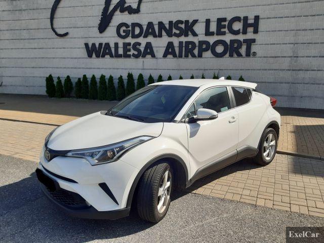 Rent TOYOTA CH-R | Car rental Gdansk |